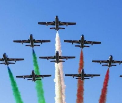 Le frecce tricolori sorvoleranno Cagliari