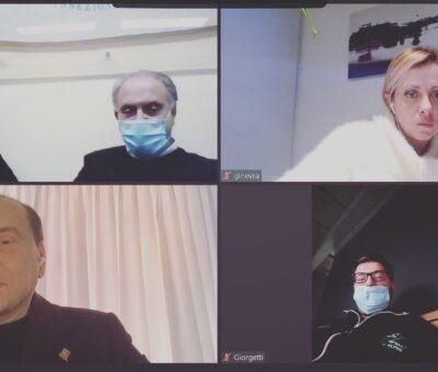 Vertice del centrodestra in videoconferenza