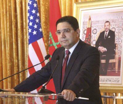 Ministro degli Affari Esteri, Nasser Bourita.
